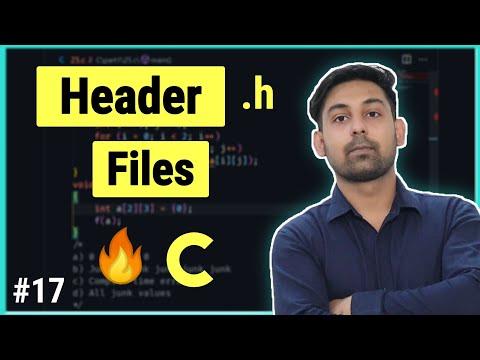 Header Files In C Programming | In Hindi | By Nirbhay Kaushik