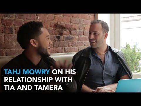 Tahj Mowry On His Relationship with Twin Sisters Tia and Tamera | WHOSAY