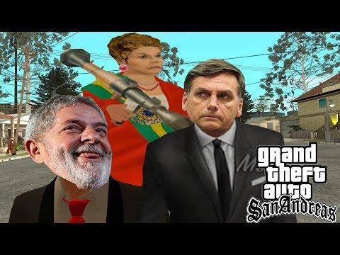 Bolsonaro, Lula e Dilma! - GTA Sanderus