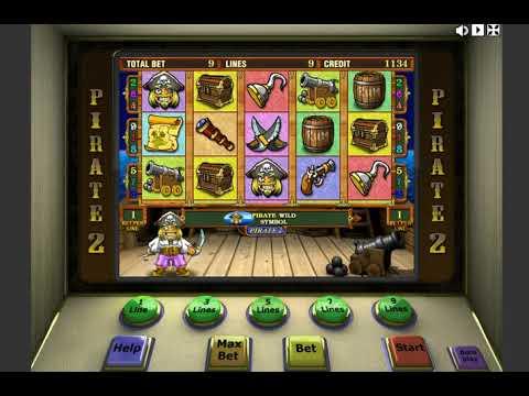 Игровой автомат PIRATE 2 играть бесплатно и без регистрации онлайн