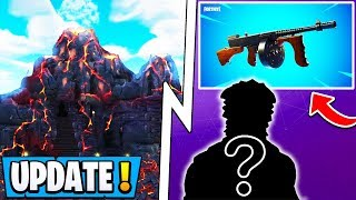 Mise à jour Fortnite ' ' ' ' ' ' ' ' ' ' ' ' ' ' ' ' ' ' ' ' ' Drum Gun Retour, S8 Battle Pass Skin, Volcan!