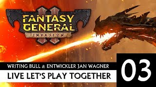 Live Let's Play: Fantasy General II - mit Entwickler | 15.09.2019 [Deutsch]