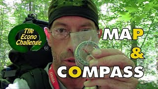 Navigation Using A Map And Compass - Bushcraft Practice