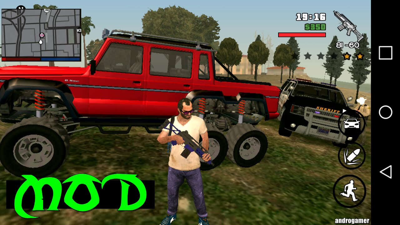 GTA 5: Visa 2 available in android 100% working apk+data
