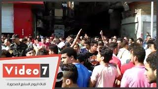 بالفيديو.. مسيرة لطلاب الثانوية المحتجين على إلغاء الامتحانات بشارع محمد محمود