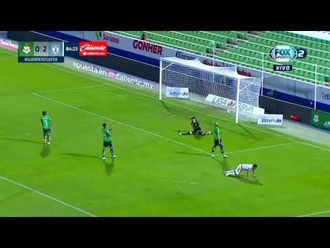 Santos Laguna 0 - [3] Pachuca - Roberto de la Rosa 85'