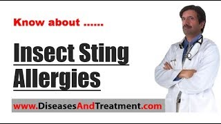 Video Insect Sting Allergies : Causes, Diagnosis, Symptoms, Treatment, Prognosis download MP3, 3GP, MP4, WEBM, AVI, FLV Agustus 2018