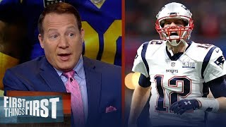 Eric Mangini breaks down the Patriots gameplan vs the Rams in SBLIII | NFL | FIRST THINGS FIRST