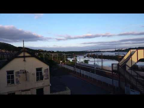 Bowling harbour timelapse 12th august 2015