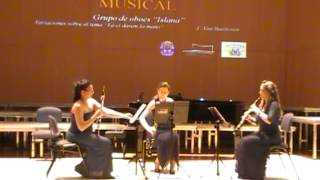 """ISLANA-Variaciones sobre el tema de Mozart """"La ci darem la mano"""" (L. v. Beethoven)"""