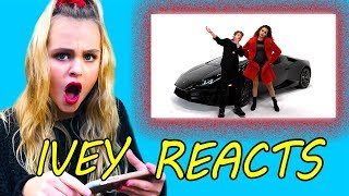 Ivey Reacts: Ooh Ooh (MattyBraps ft Gracie Haschak)