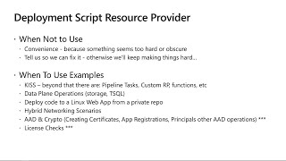 What's new with Azure Resource Manager (ARM) templates for your deployments | BRK3233