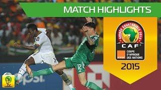 Ghana - Algérie   CAN Orange 2015   23.01.2015