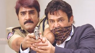 Shadow Action Scenes - Shadow Killed S.P - Venkatesh
