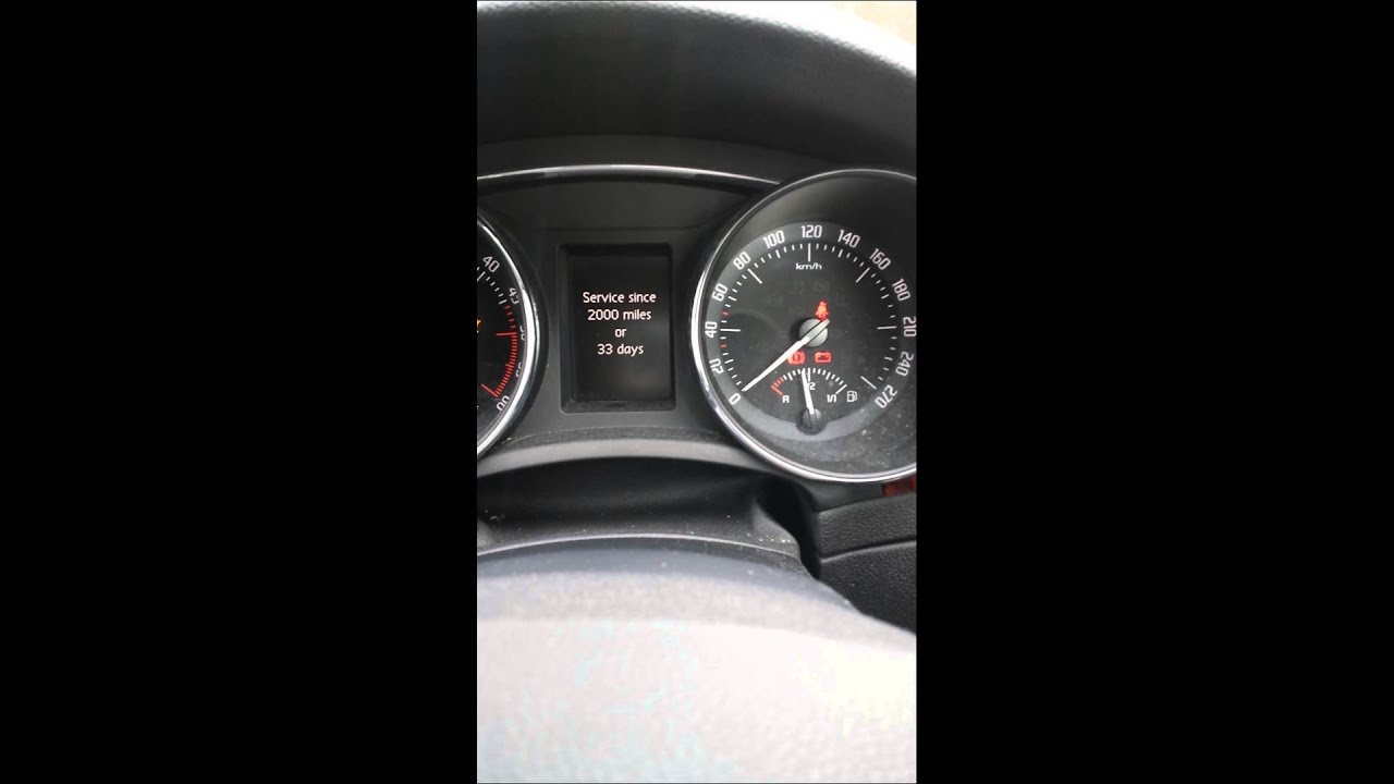 Service interval indicator reset skoda superb | Doovi