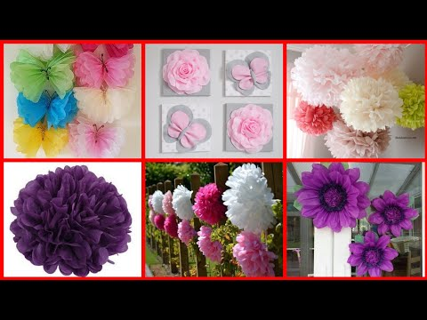 Easy and beautiful paper craft decoration ideas