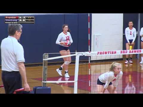 Frontier Regional School Volleyball Vs Chicopee Comp