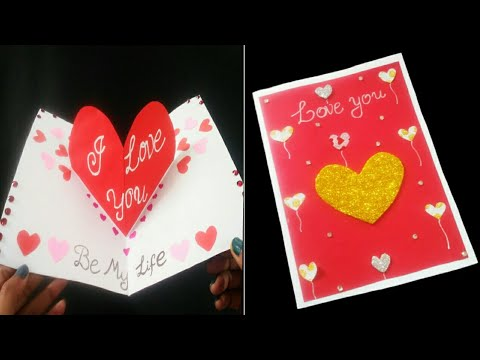 How to make Love ❤️ Card for Loved ones |I Love You Card ideas | Love card for Valentine's Day