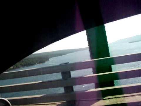Crossing Seal Island Bridge on my way home fom Aldershot