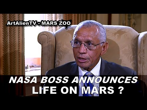 NASA CHIEF SAYS THERE WAS LIFE ON MARS on UK TV. ArtAlienTV - 1080p (Full Version)