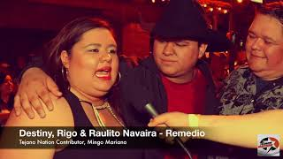 Remedio talks with Tejano Nation at the 2018 Tejano Music Awards Fan Fair