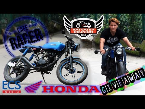 Honda CG modified into Cafe Racer in Nepal | VATVATEY REUNION PASS GIVEAWAY