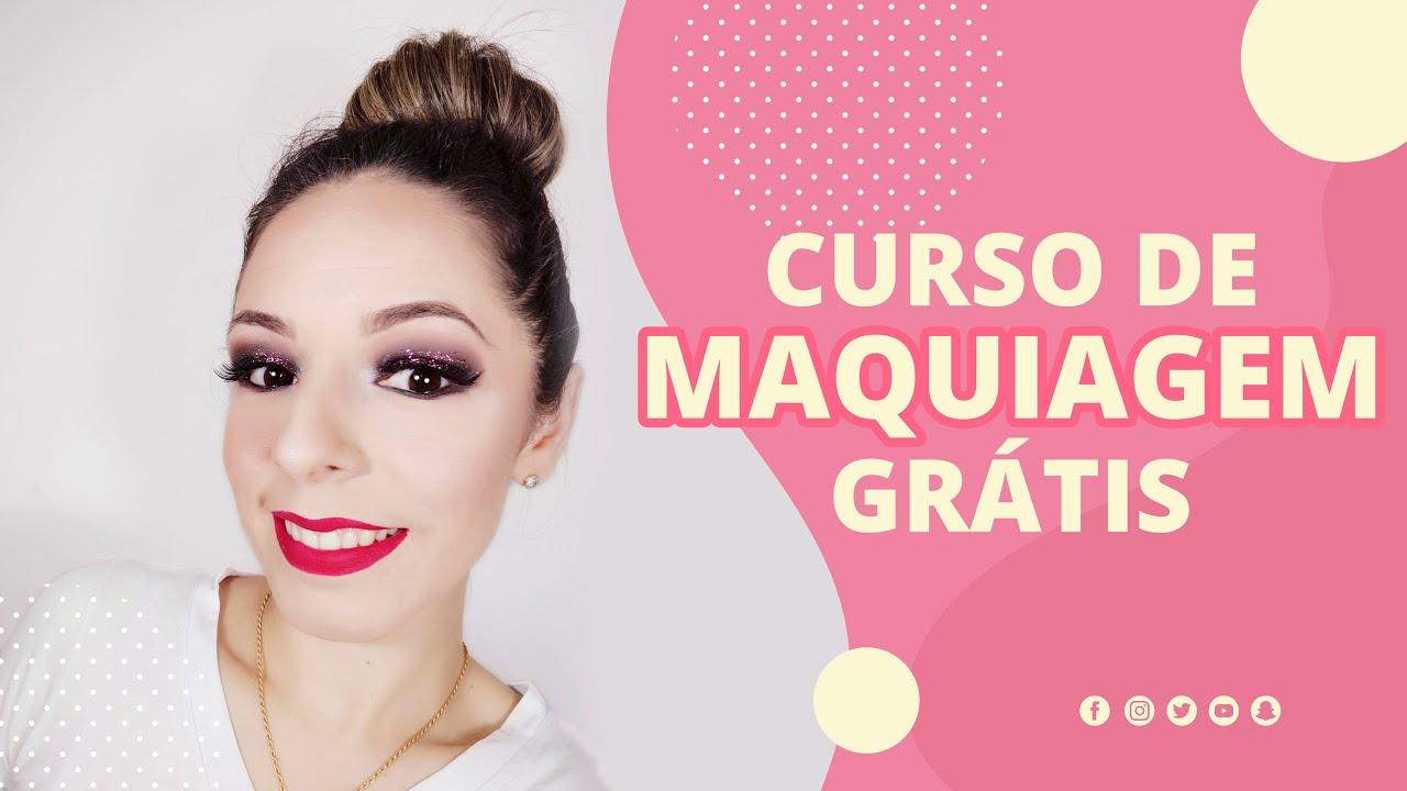 Curso De Maquiagem Online Gratis Materiais Utilizados Youtube