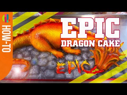 How to make a Dragon Cake | How To Be Epic @ Everything
