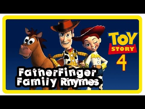 Toy Story 4 | Finger Family Songs | Daddy Finger Song | Children Nursery Rhymes