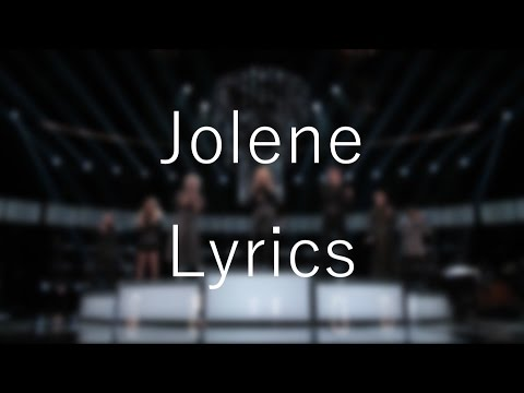 Jolene「Miley Cyrus & Dolly Parton & Pentatonix 」[On Screen Lyrics]