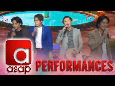 ASAP: Kapamilya heartthrobs shower their love by performing 'Honey My Love So Sweet'