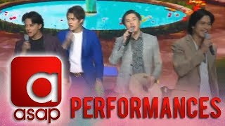 ASAP: Kapamilya heartthrobs shower their love by performing 'Honey My Love So Sweet'