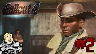 Fallout 4 2 - Новый друг, силовая броня, миниган