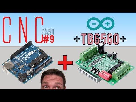 Arduino uno cnc wiring