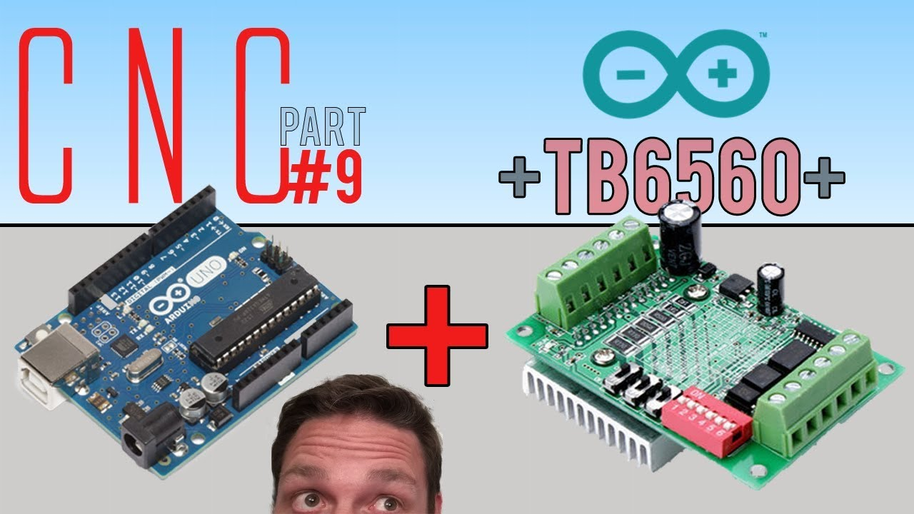 first diy cnc build part 9 tb6560 plus arduino uno is true  [ 1280 x 720 Pixel ]