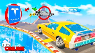 YOU WILL DROP A FLYING DELORIAN OR TESLA! TRY YOUR LUCK! - GOOD / BAD CHECKPOINT IN GTA 5 ONLINE