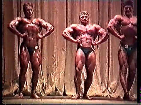 1990 Чемпионат Ленинграда бодибилдинг 90 кг