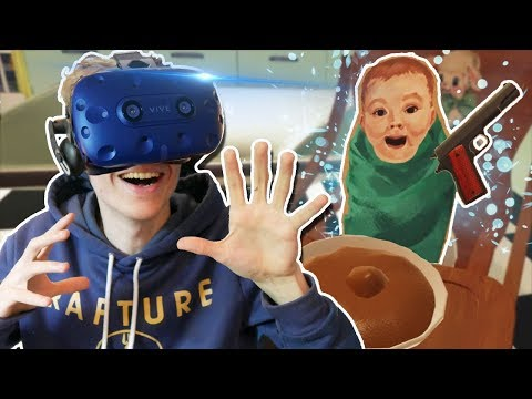 HOW TO RAISE A CHILD IN THE UNITED STATES! | The American Dream VR (HTC Vive Pro Gameplay)