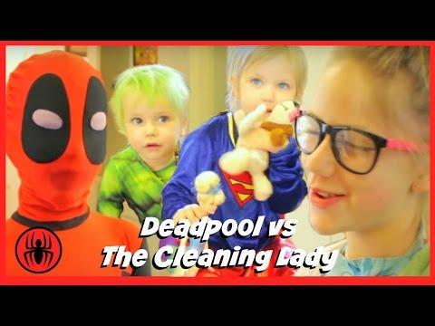 Baby Heroes 2: Kid Deadpool vs Hulk & Supergirl in Real Life comics | Superhero Kids