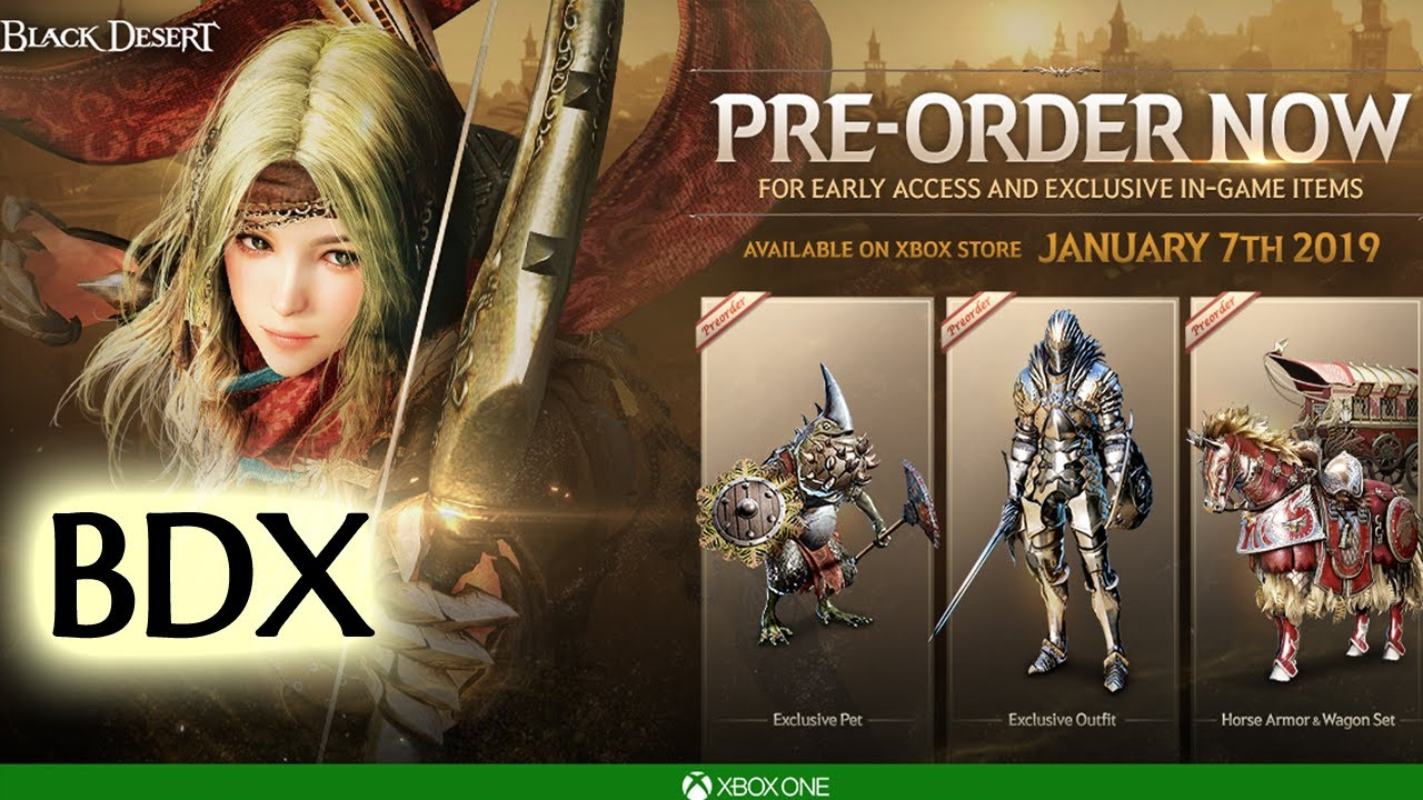 What We Know About BDX | Black Desert on Xbox