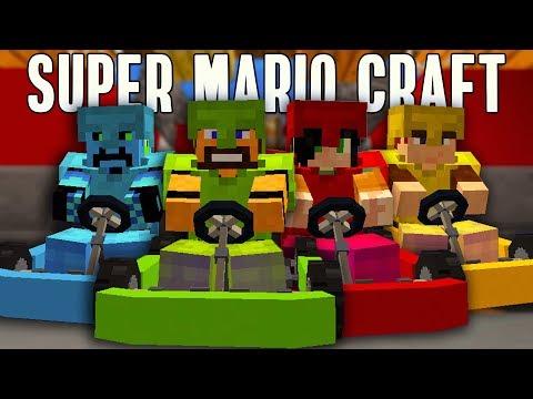 GARE AD ALTA VELOCITÀ SUI GO KART! - Super Mario Craft [ITA] w/ErenBlaze, Metano007 & Tech4Play
