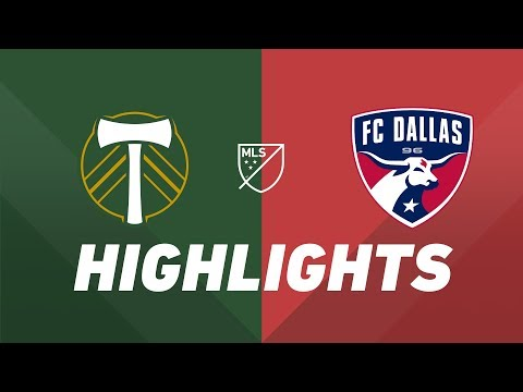 Portland Timbers Vs. FC Dallas | HIGHLIGHTS - June 30, 2019