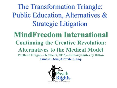 The Transformation Triangle:Public Education, Alternatives & Strategic Litigation