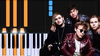 "5 Seconds Of Summer - ""Why Wont You Love Me"" Piano Tutorial - Chords - How To Play - Cover"