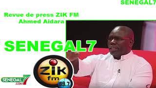 Revue de presse Zik-fm du Jeudi 27 juin avec Ahmed Aidara