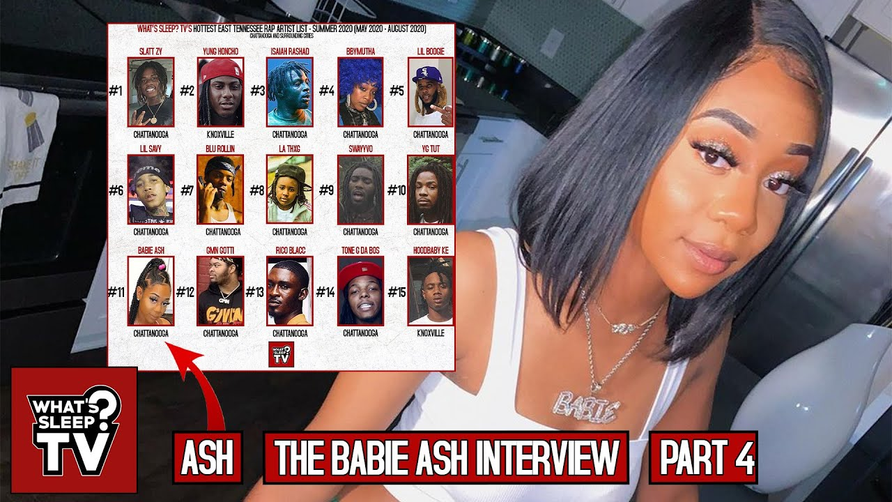 "Babie Ash Talks East TN/Chattanooga Rap List ""Folks Be Hating Bruh!"""