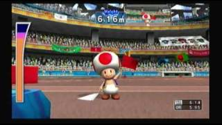 Mario and Sonic at the Olympic Games Athletics: Pole Vault