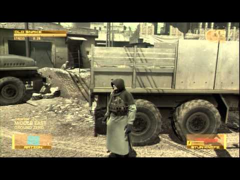 Metal Gear Solid 4 Walkthrough - Part 1 War Has Changed Lets Play MGS4 Gameplay Commentary