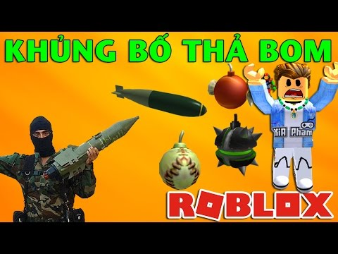 Roblox   KHỦNG BỐ THẢ BOM - Super Bomb Survival   KiA Phạm