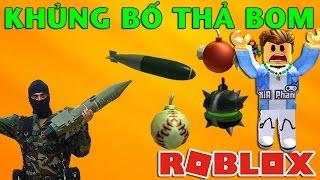 Roblox | TERRORIST DROP BOMB-Super Bomb Survival | KiA Pham